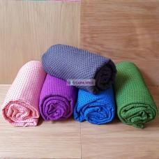 Khăn Trải Thảm Tập Yoga Hạt Cao Su Non
