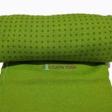 Khăn Trải Thảm Tập Yoga Silicon - Xanh Lá