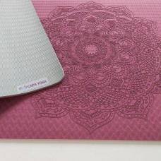 Thảm yoga hoa văn Mandala